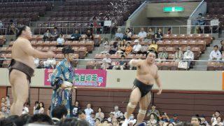俺、大相撲仙台場所を見に行く