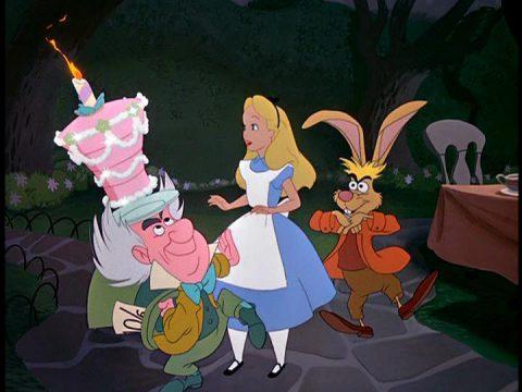 映画鑑賞14 ふしぎの国のアリス Alice in Wonderland