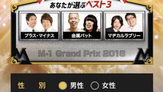 M-1グランプリ2018 敗者復活戦