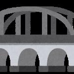 2020年7月21日 高さ20メートルはありそうな橋の上で、柵は腰までの高さで安全帯もなく…マジで怖かった。