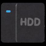 2020年8月18日 外付けHDDが読み込まなくなったけど直した
